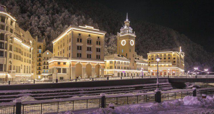 Вгорах Сочи открыли первое казино новоиспеченной игорной зоны