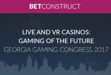 Представители BetConstruct расскажут о live- и VR-казино на Georgia Gaming Congress