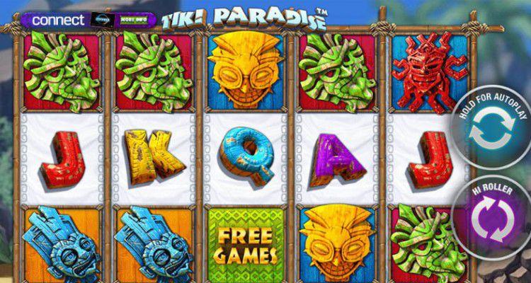 Обзор слота Tiki Paradise от Playtech
