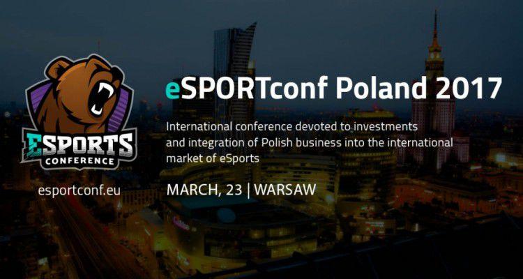 eSPORTconf Poland 2017 пройдет 23 марта в Варшаве