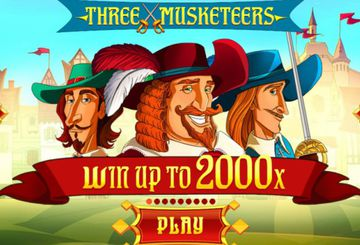 Игровой автомат Three Musketeers от Red Tiger Games – обзор