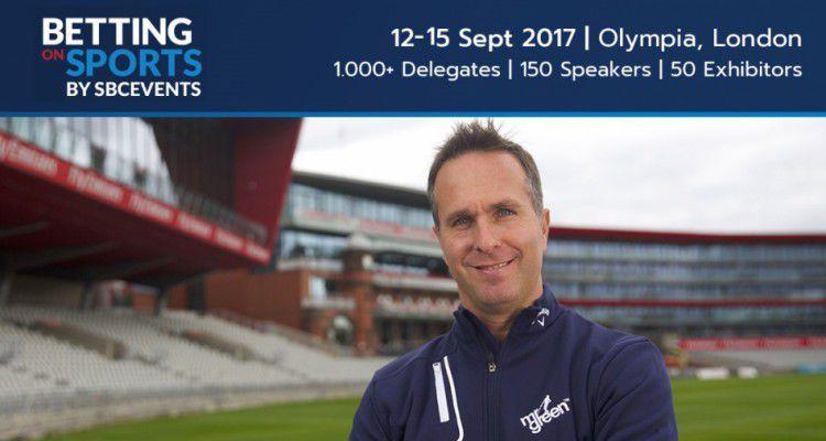 Известный тренер по крикету из Англии участвует в Betting on Sports 2017