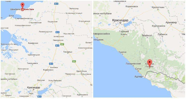 ЗАО «Шамбала»: «Азов-Сити» и «Красная Поляна» друг другу не мешают»