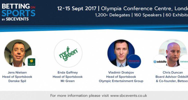 Руководители Mr Green, Danske Spil, OlyBet – основные спикеры сессии «Лидеры беттинга» на Betting on Sports 2017
