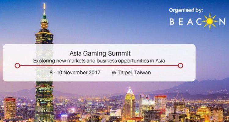Первый Asia Gaming Summit Taiwan состоится в Тайване в ноябре