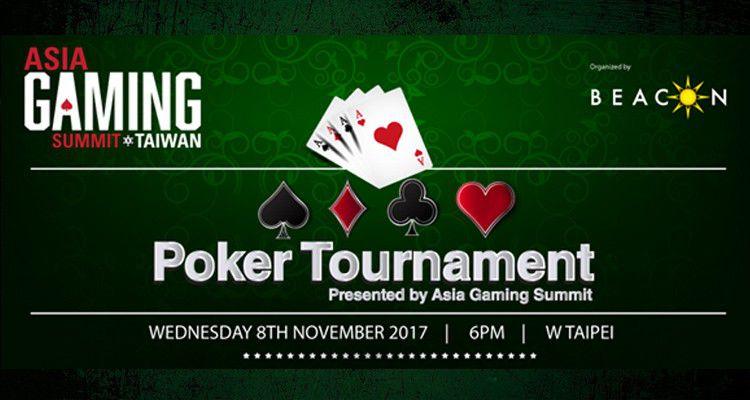На Asia Gaming Summit Taiwan пройдет турнир по покеру