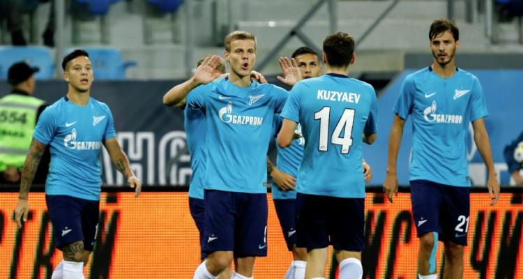 БК «Олимп» считает «Зенит» фаворитом в матче с «Локомотивом»