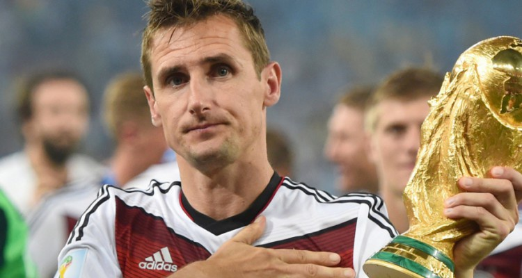 Мирослав Клозе: «Для меня большая честь даже после завершения карьеры оставаться частью чемпионата мира»