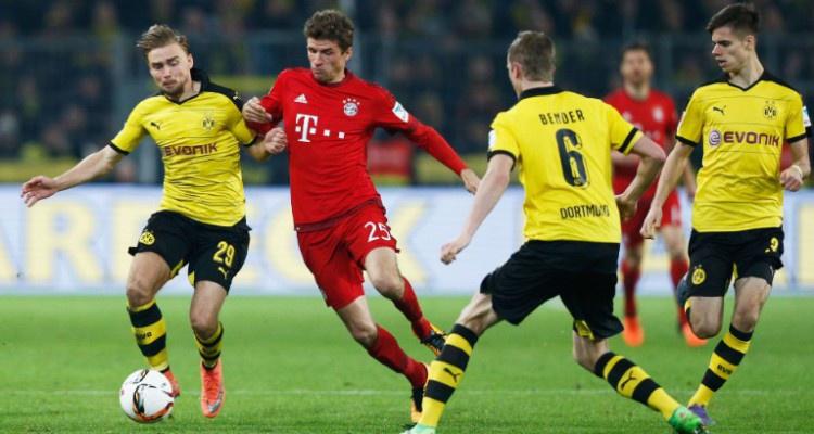 БК «Олимп»: «Бавария» – «Боруссия» (Д) выяснят отношения в Кубке Германии»