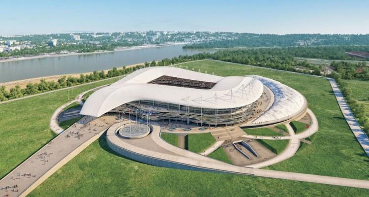 Окончено строительство стадиона кЧМ-2018 вРостове-на-Дону