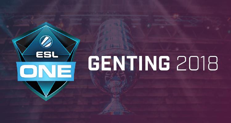 Virtus.pro вышла в плей-офф ESL One Genting 2018