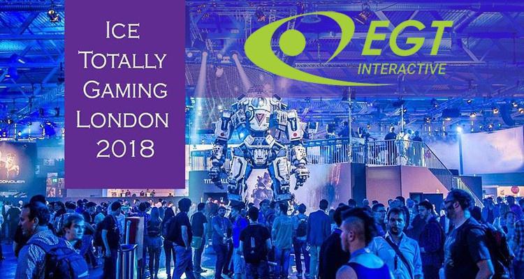 EGT Interactive представит портфель разработок на ICE London