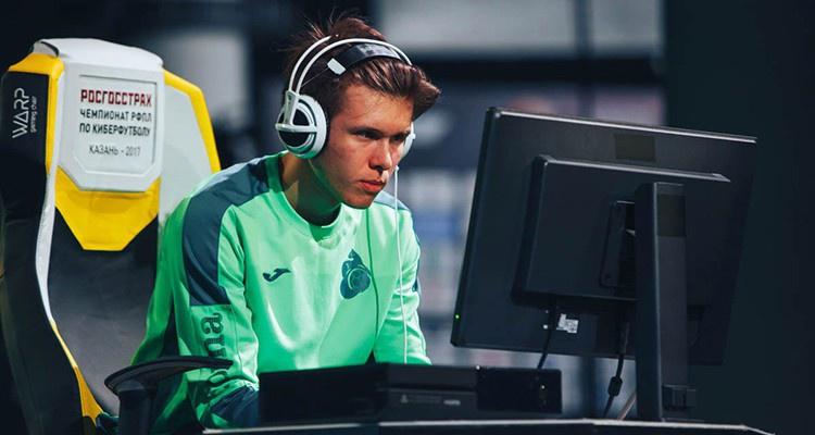 Киберфутбол может догнать по популярности обычный футбол – киберфутболист «Локомотива»