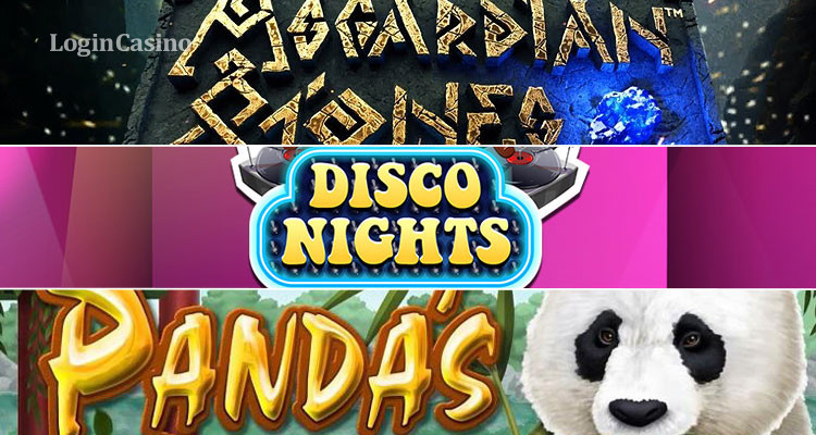 Игровые автоматы Asgardian Stones, Disco Nights и Pandas Gold: сравнительный обзор