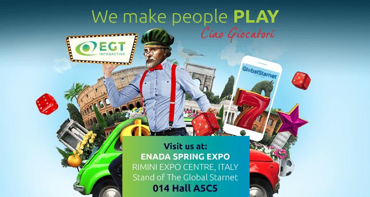 EGT Interactive представит продукцию на выставке Enada Spring