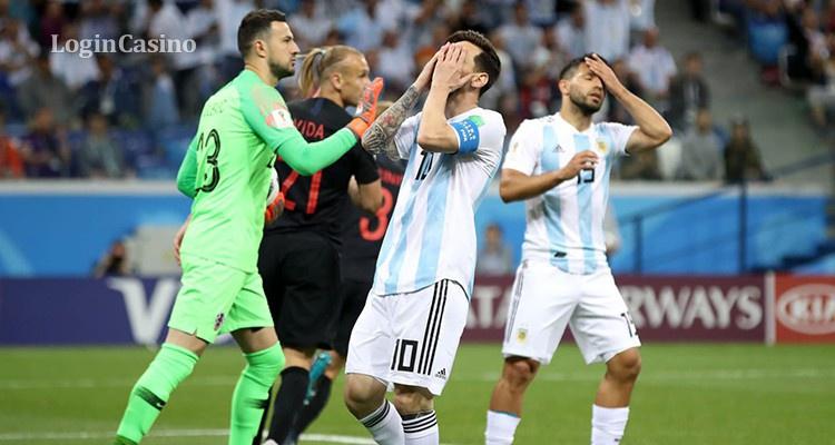 Провал Месси. Хорватия разгромила Аргентину