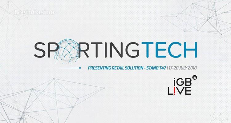 Sportingtech представит свое решение для розничной торговли на iGB Live!