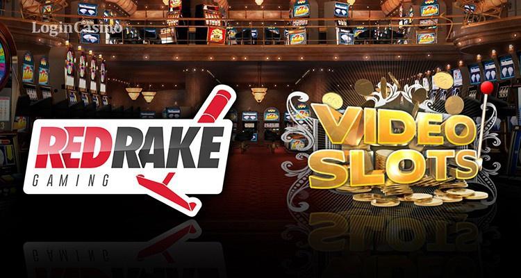 Videoslots подписал соглашение с Red Rake Gaming