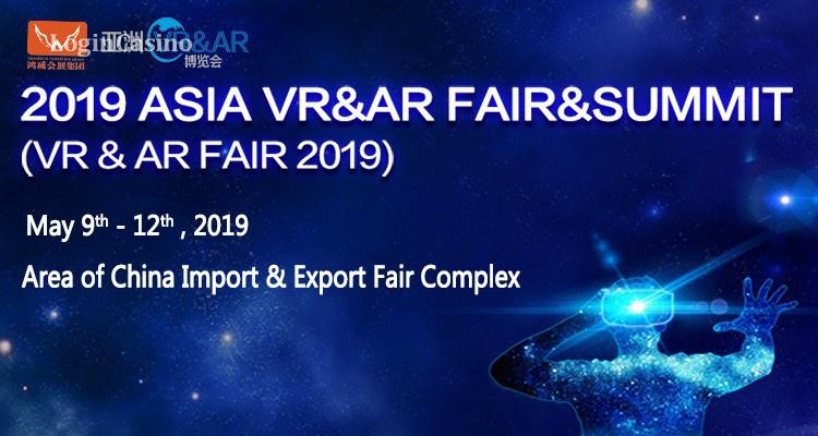 Выставка Asia VR&AR 2019 состоится в мае 2019