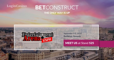 BetConstruct примет участие в Entertainment Arena Expo