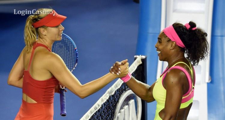 Шарапова уступила Уильямс в посеве на US Open