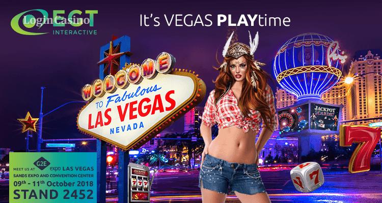 EGT Interactive едет на G2E Vegas