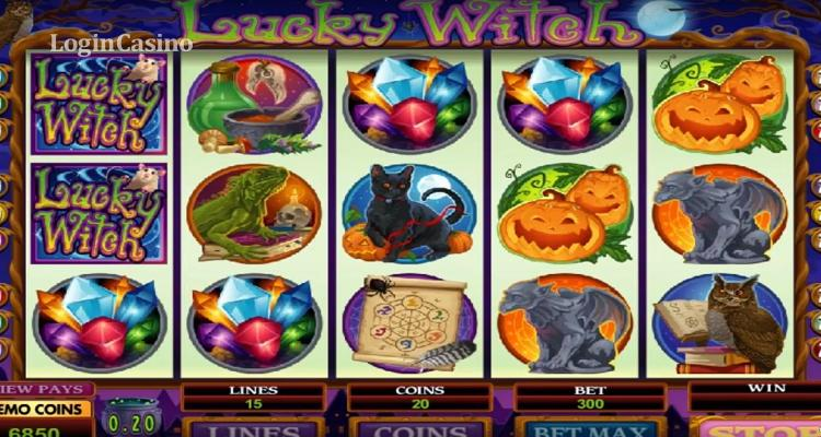 Lucky Witch от Microgaming