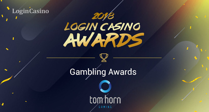 Tom Horn Gaming – номинант на премию Login Casino Awards