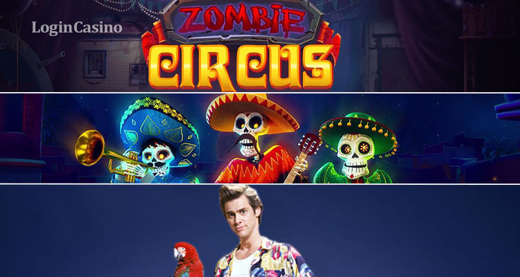 Обзор игровых слотов Zombie Circus, Red Tiger Gaming и Ace Ventura: Pet Detective