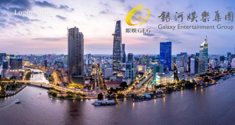 Логотип Galaxy Entertainment незаконно используется в рекламе вьетнамского курорта
