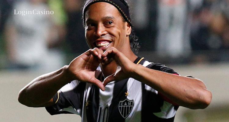 Роналдиньо присоединился к бразильским легендам Пеле, Гарринча и Зико