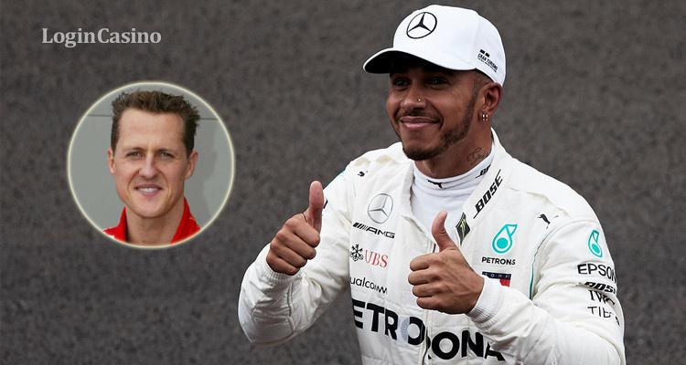Шумахер способствовал тому, что Хэмилтон сейчас непобедим