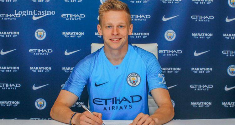 «Манчестер Сити» объявил о новом контракте с Александром Зинченко (фото, видео)