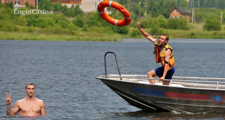 Береговая охрана спасла жизнь Кличко и его семье