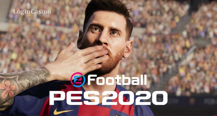 На обложке PES 2020 будет запечатлен легендарный Месси