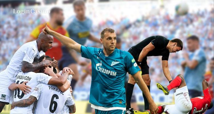 Итоги второго тура РФПЛ: «Зенит» идет по графику к чемпионству, дебютанты – к вылету (видео)
