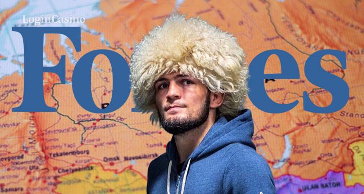 Хабиб Нурмагомедов – самый успешный в России среди звезд шоу-бизнеса по версии Forbes