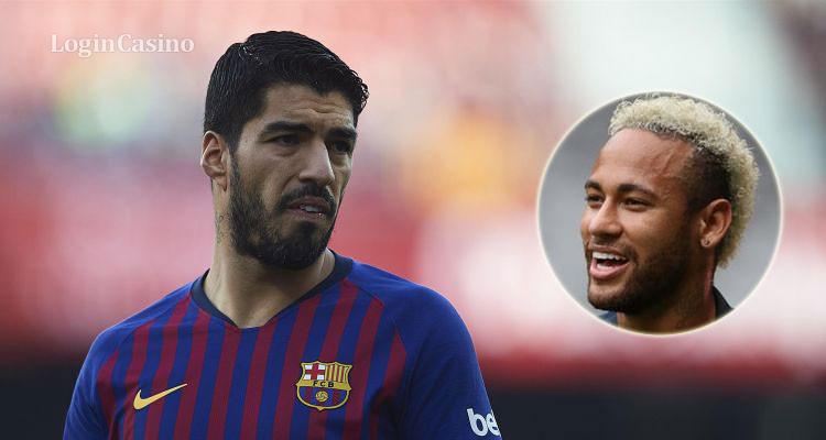 Если Неймар придет в «Барселону», то Суарес уйдет: Бекхэм уже ждет его