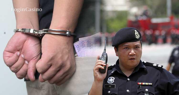 Малайзия: сотни арестов подозреваемых в организации незаконного гемблинга