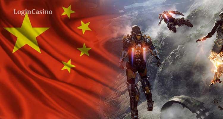 Китай вводит ограничение для несовершеннолетних игроков