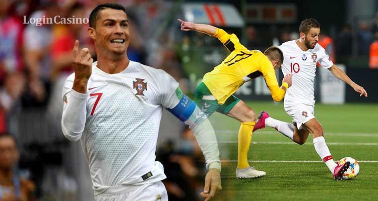 Португалия— Литва 6:0 обзор матча, видео голов за14ноября