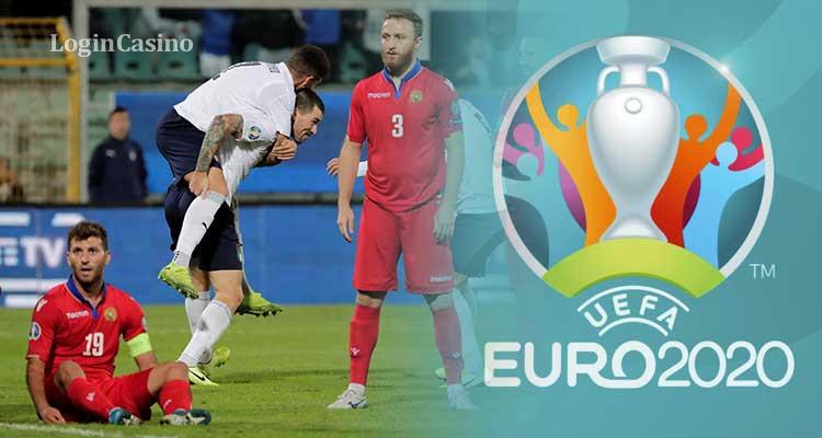 Армения без Мхитаряна пропустила 9 голов от Италии: команда Манчини повторила рекорд
