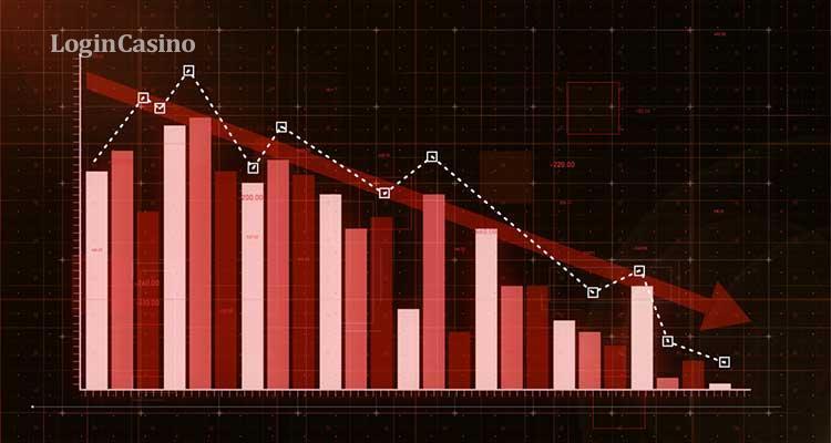 Индустрия спортивного беттинга констатировала падение доходности на 10%.