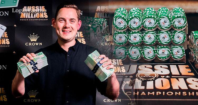 Покерист из Великобритании в третий раз победил на Aussie Millions