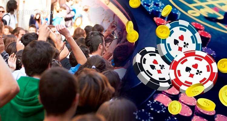 Грузины вновь собрались на акцию протеста против азартных игр