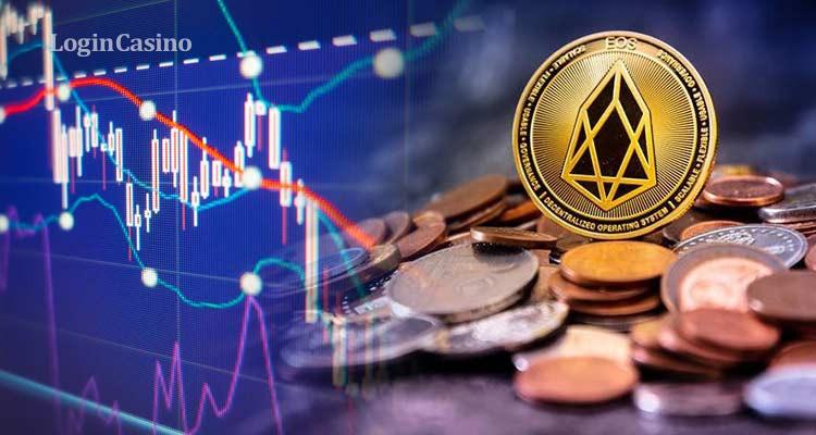 Курс EOS: констатировано падение стоимости актива на 4%