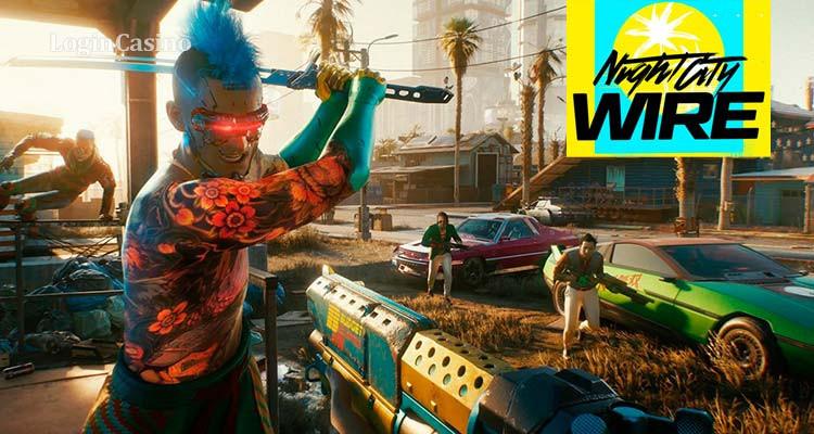 На Night City Wire Cyberpunk 2077 показали новые модификации и оружие