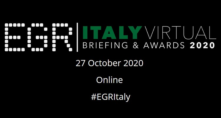 EGR Italy Virtual Awards and Briefing 2020