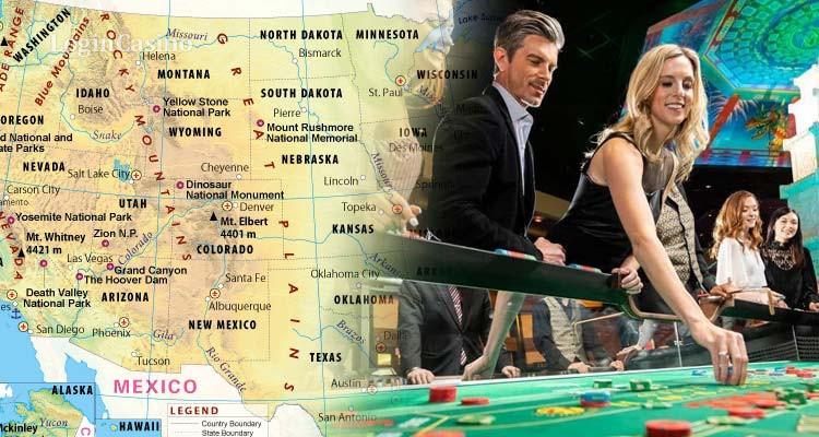 Законодатели США открывают отрасль азартных игр для четырех штатов
