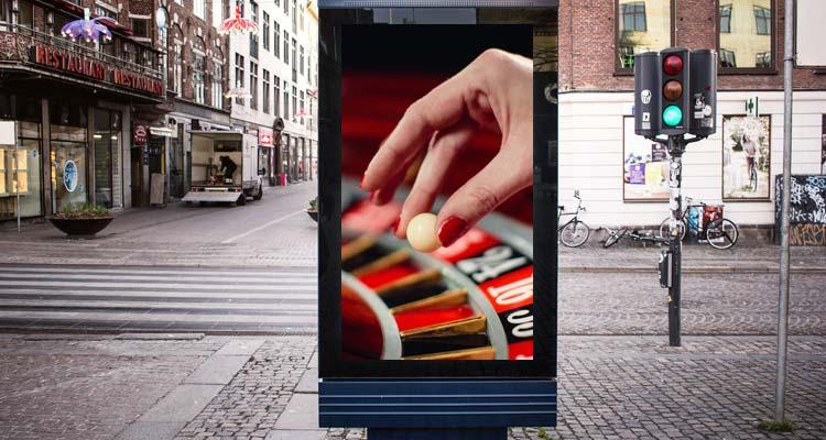 47% респондентов сообщили, что наблюдали рекламу азартных игр
